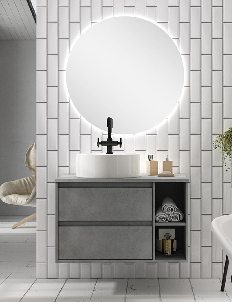 Meubles de salle de bain modernes Terra