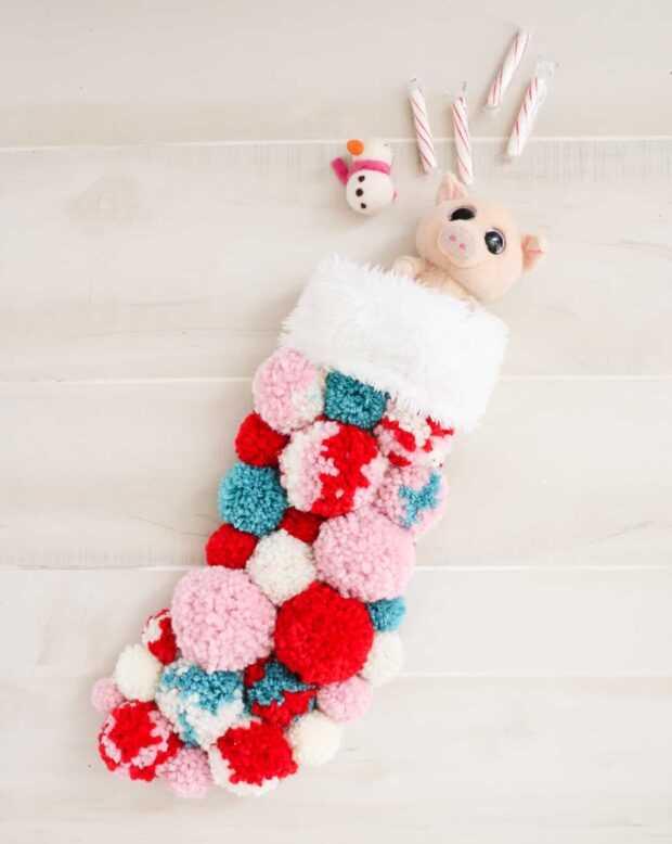13 idées créatives de bas de Noël bricolage - Idées de bas de Noël bricolage, bas de Noël bricolage