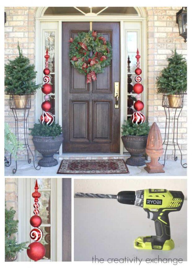 13 meilleures décorations de Noël en plein air de bricolage pour obtenir votre cour dans l'esprit - Décorations de Noël en plein air, décorations de Noël en plein air bricolage