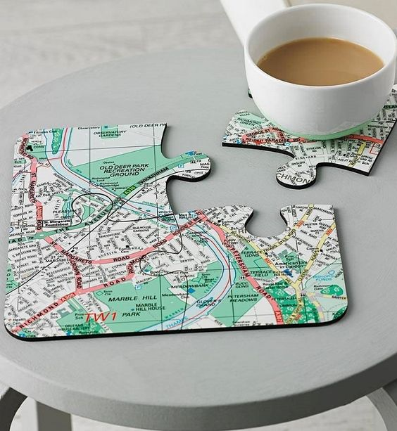Idées créatives de bricolage avec des puzzles - puzzle, puzzle, bricolage, artisanat