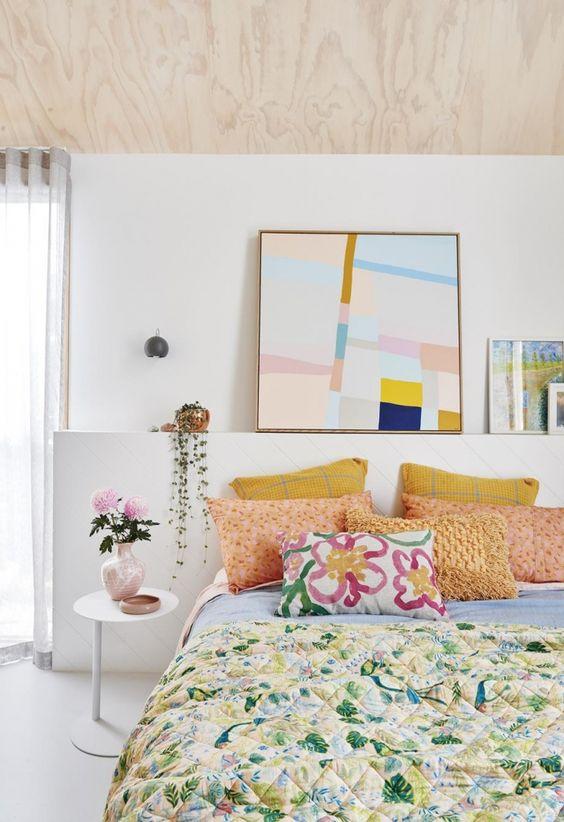 Créez une atmosphère avec des textiles de chambre