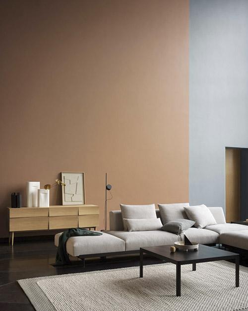 décoration des salons avec mobilier design et style scandinave