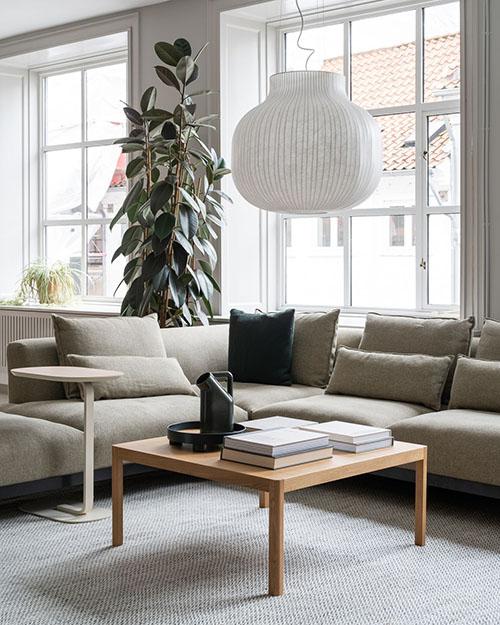 Canapé d'angle modulable 6 places