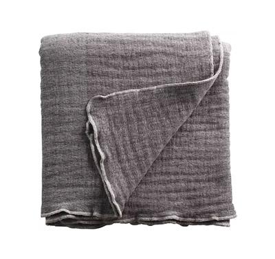 couvre-lit en coton et laine