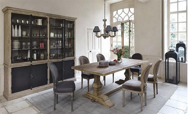 armoires de type armoire pour la décoration de la salle à manger