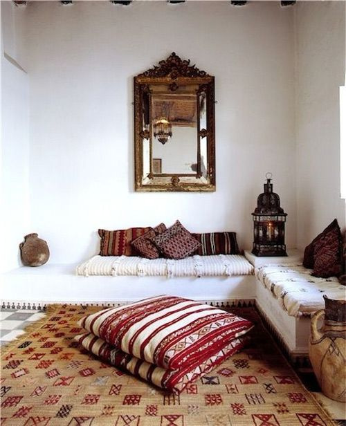 Housses de coussin d'inspiration marocaine