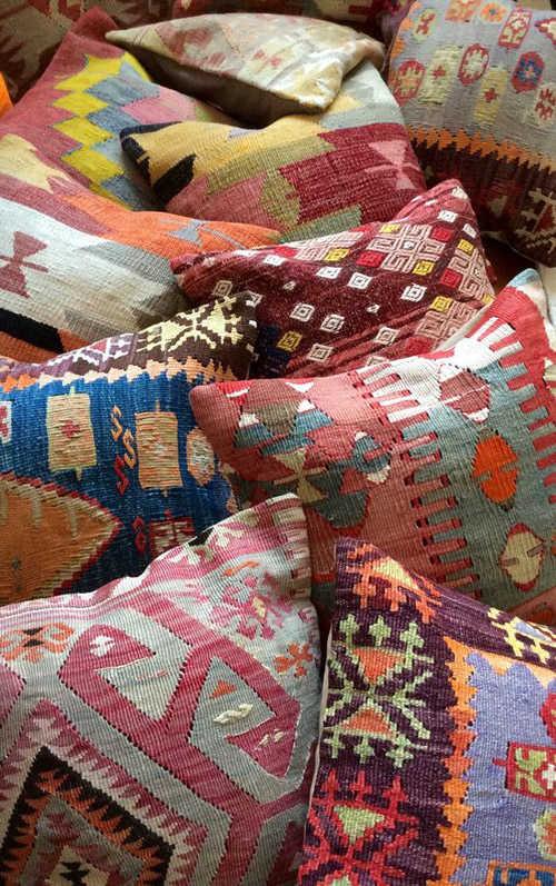 housses kilim pour tapisser les coussins