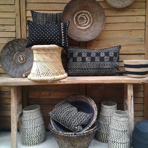 Style africain dans la décoration de la maison