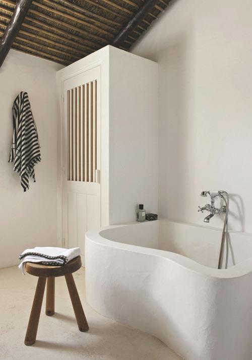 La salle de bain dans les maisons méditerranéennes
