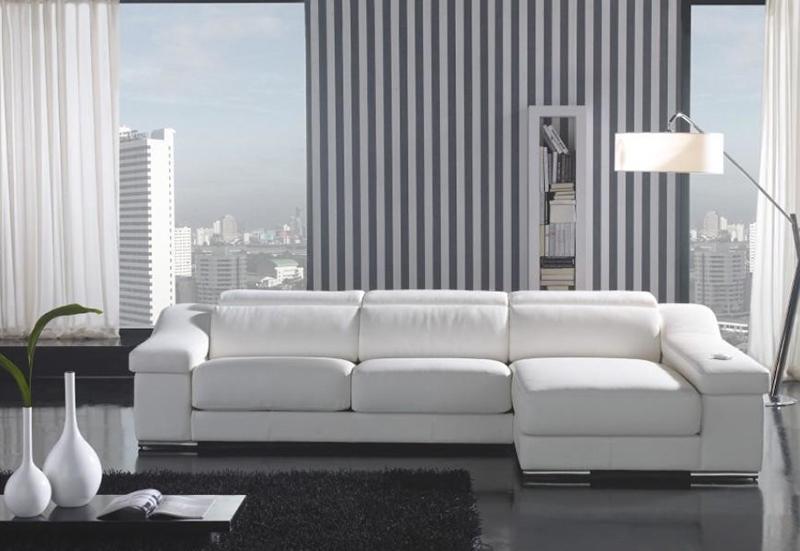 Canapés composables en cuir