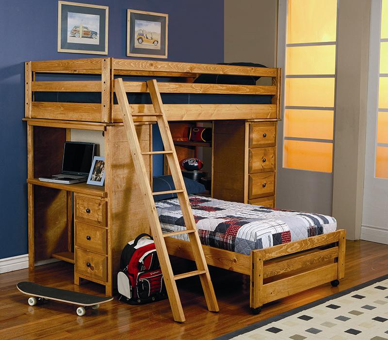 Lits superposés et lits mezzanine avec bureau que vous allez adorer