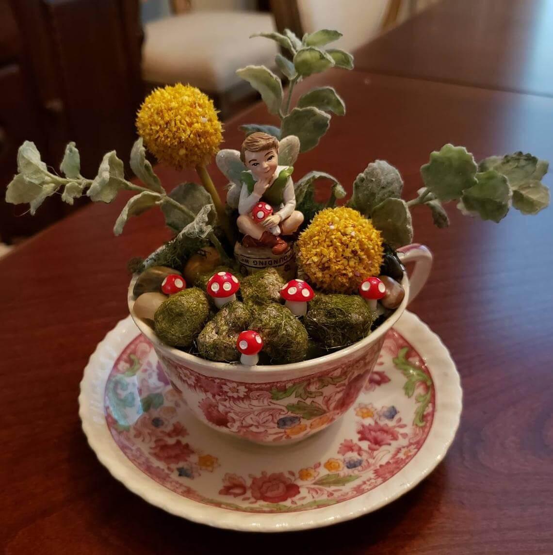 Thinking Fairy Jardin miniature de champignon vénéneux