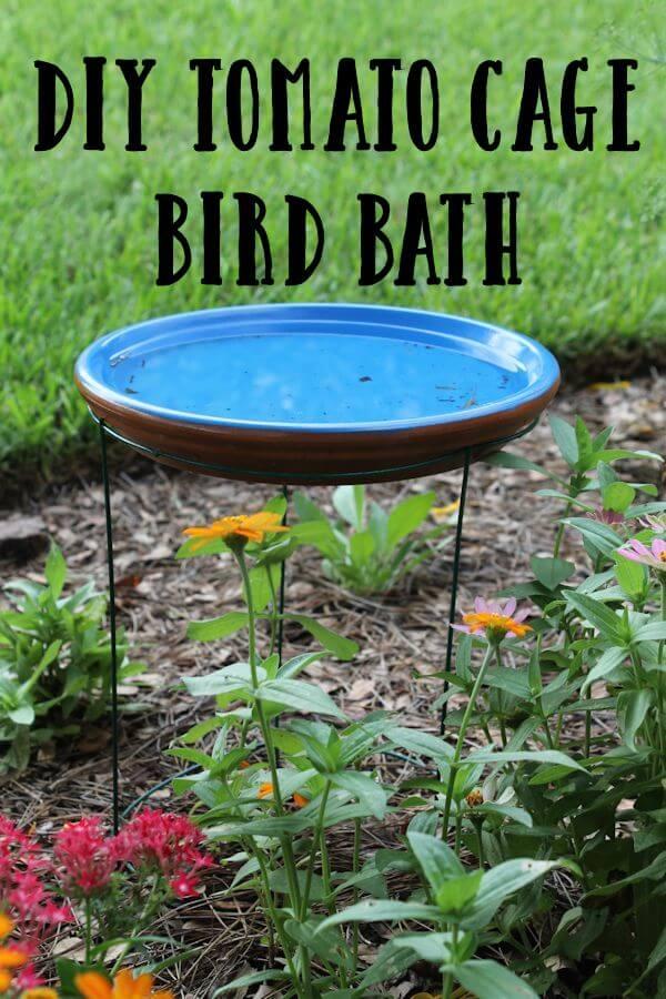 15 charmantes idées de bains d'oiseaux à faire soi-même pour votre jardin