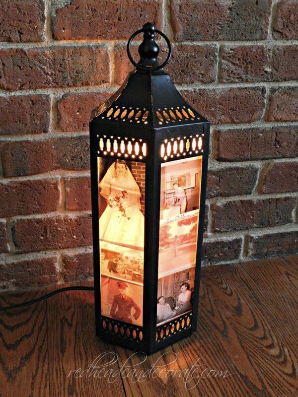 Lanternes charmantes et uniques remplies de souvenirs