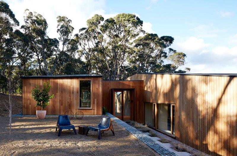 Architecture de la maison à deux moitiés
