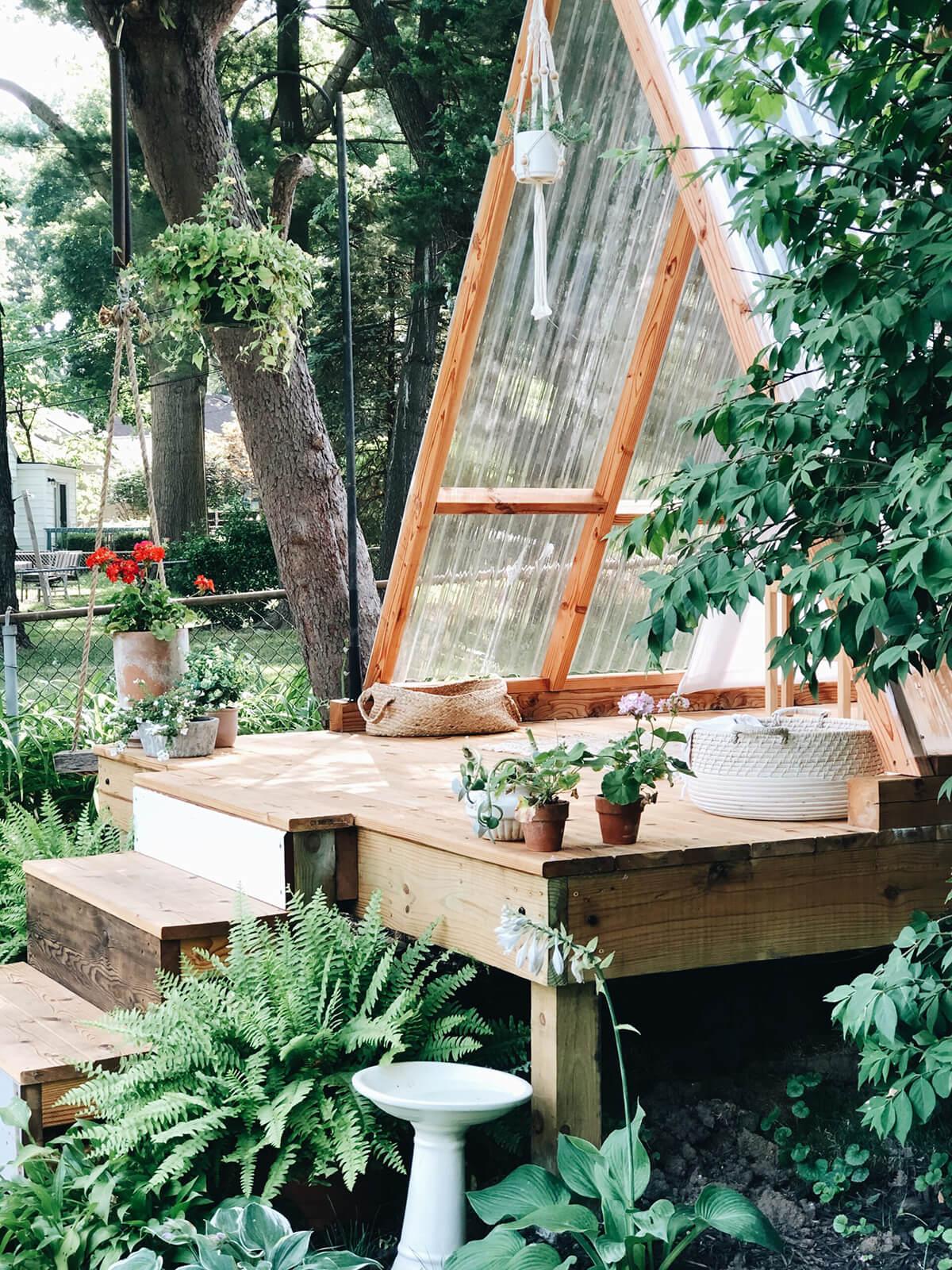 Playhouse de jardin zen magnifiquement amusant
