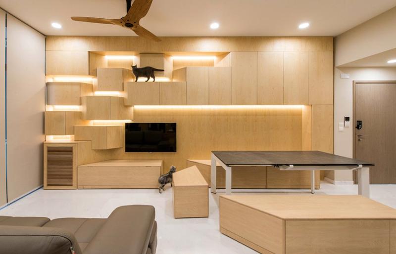 Appartement en copropriété luxuriant