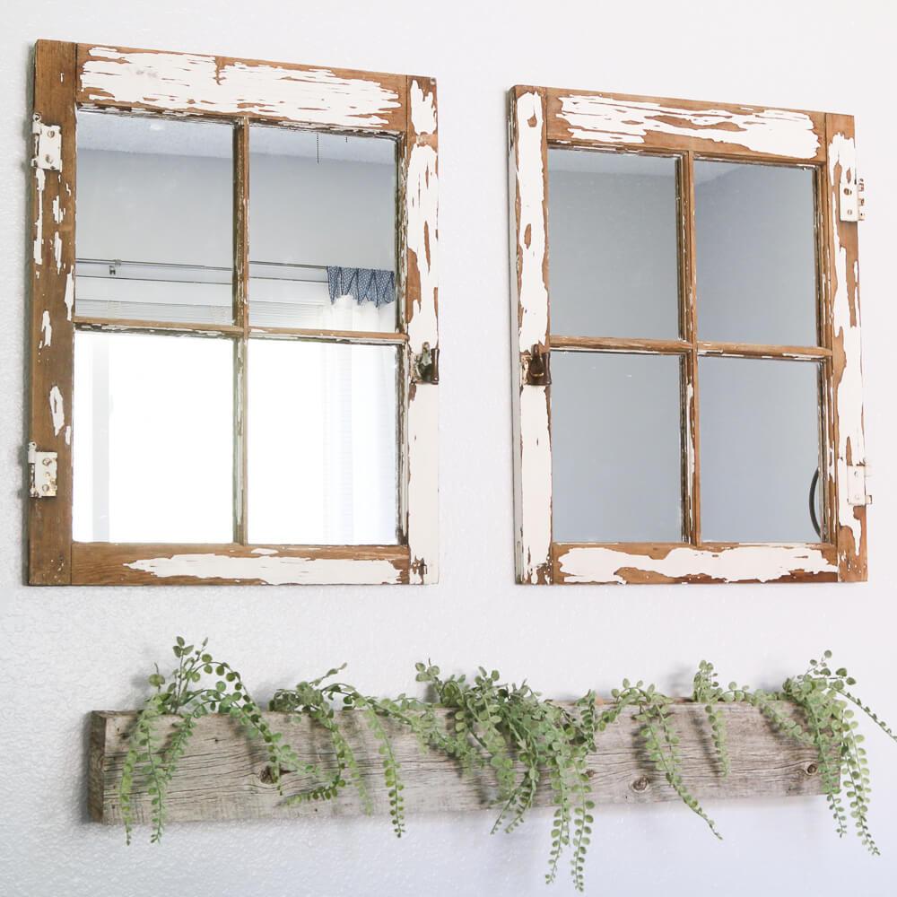 Un reflet adorablement parfait du charme de fenêtre antique