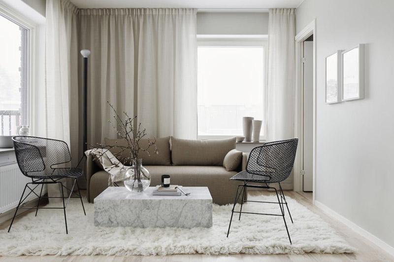 Décoration avec des meubles design