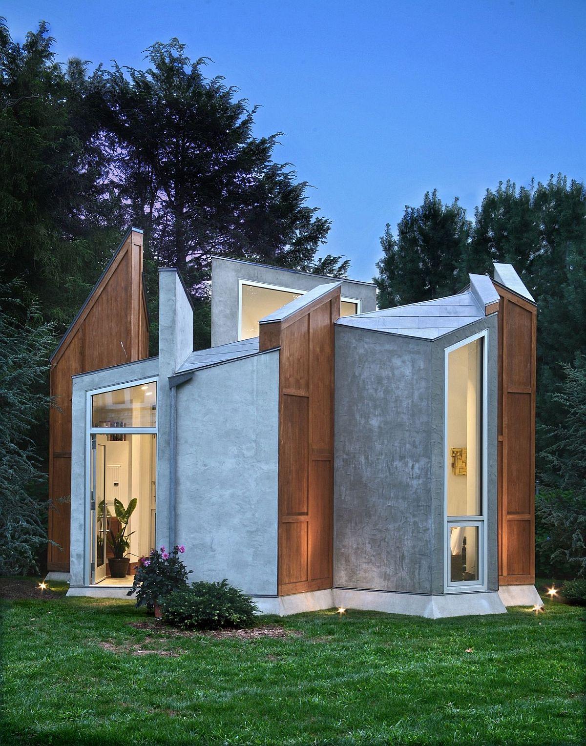Design élégant et contemporain de studio d'arrière-cour