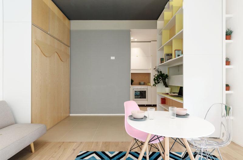 Chambre de l'appartement Taaacito