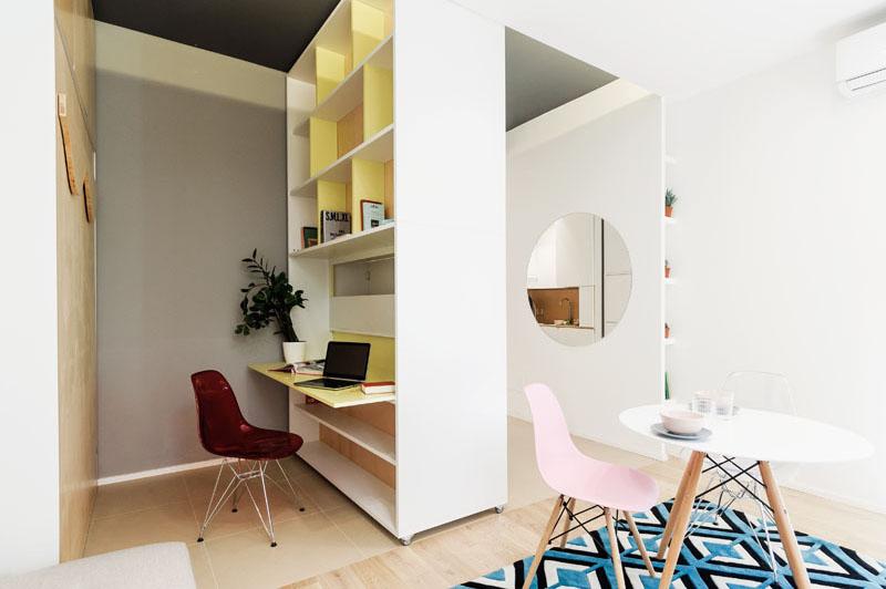 Bureau de l'appartement Taaacito