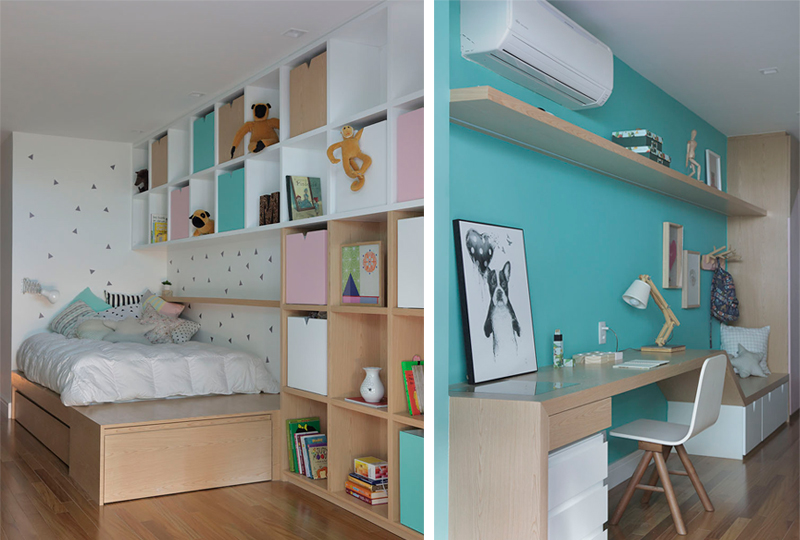 Appartement MICF chambre d'enfants