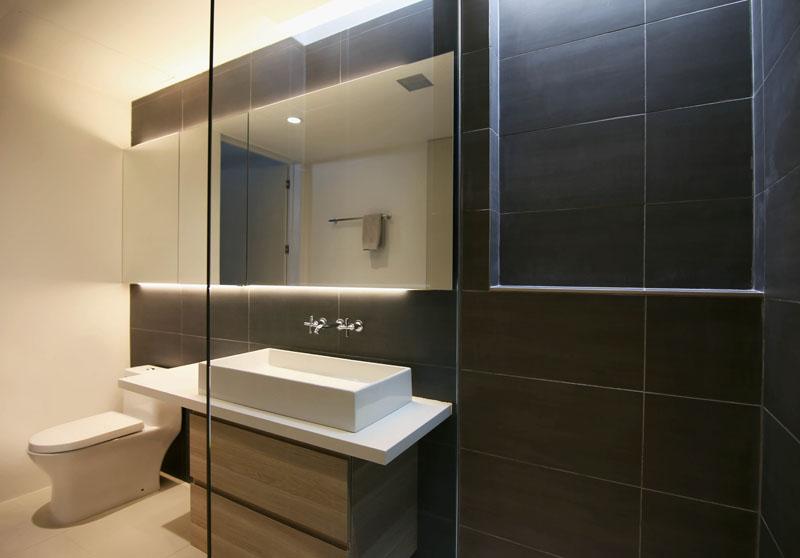 Salle de bain pour invités Chino Canyon