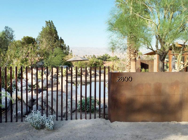 Clôture Chino Canyon
