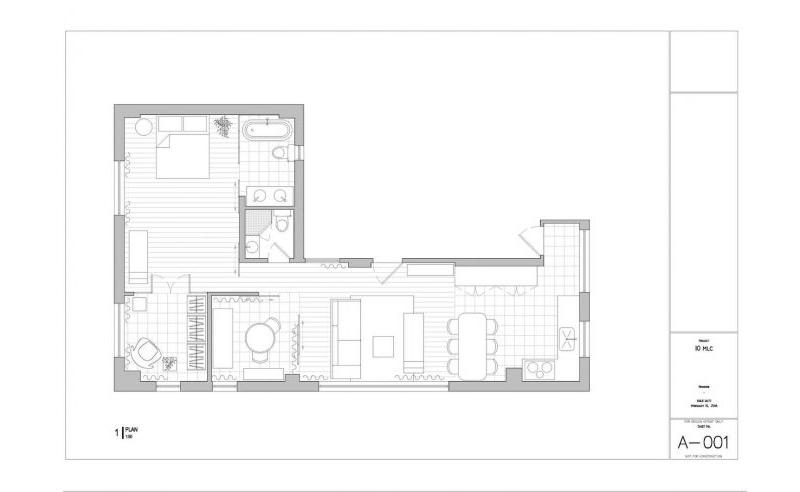 Plan de la résidence Happy Valley