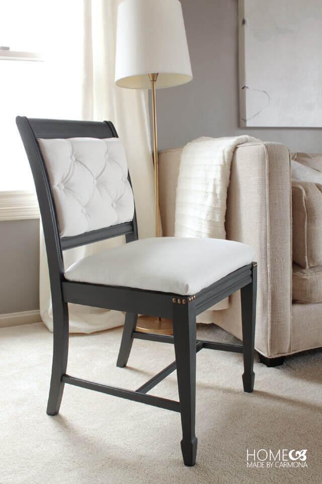 Belle relooking de chaise contemporaine remodelée