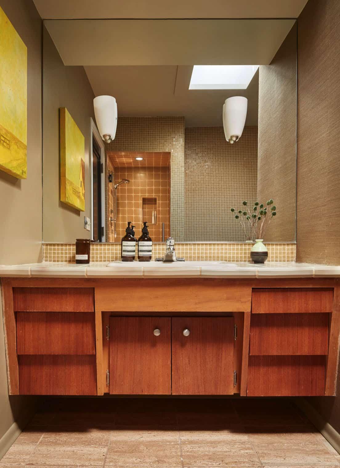 condo-midcentury-salle de bain