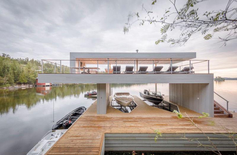 Intérieur de Boat House