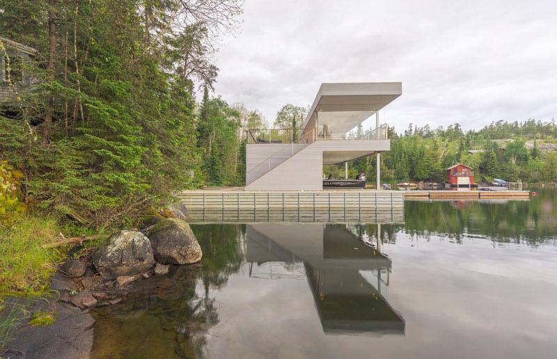 Végétation de Boat House
