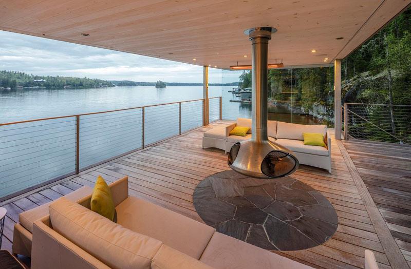 Cheminée Boat House