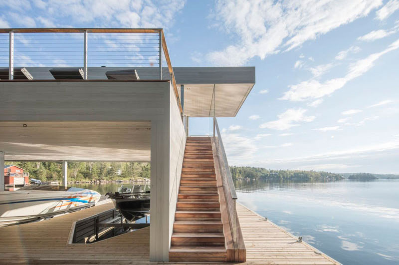 Escaliers de Boat House