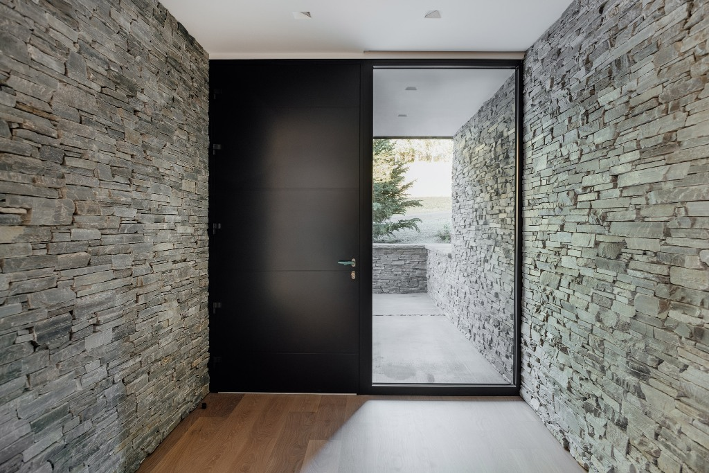 Des couches de quartzite forment des murs internes et externes