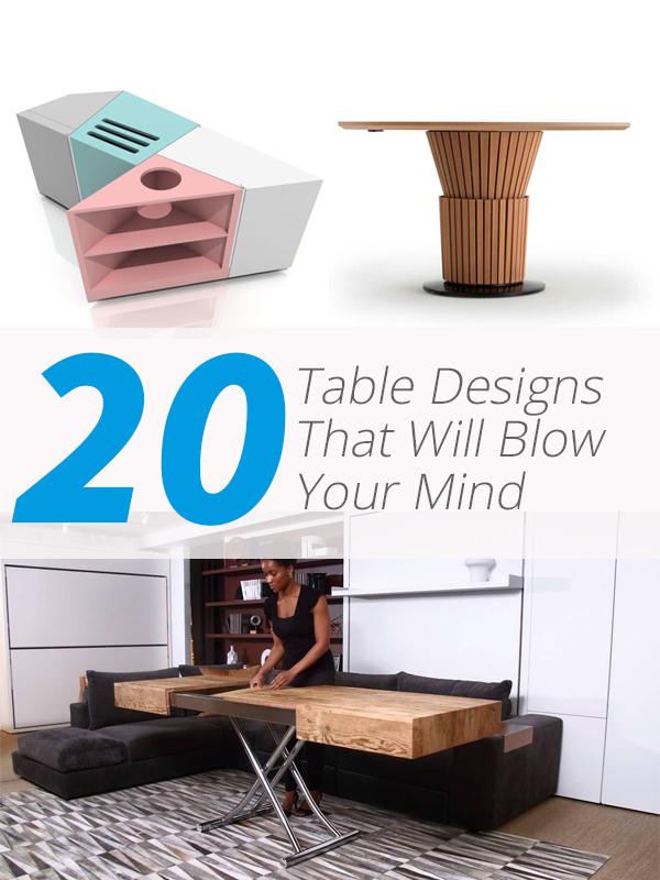 vidéos de conception de table