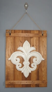 Simplicité rustique pour orner vos murs