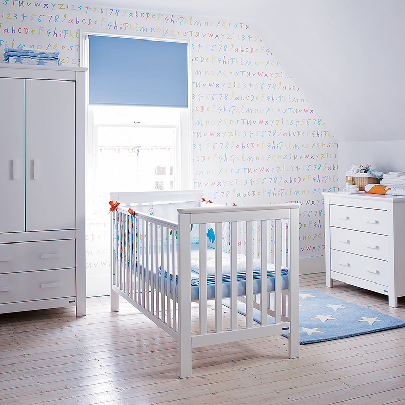 Mobilier de chambre d'enfant John Lewis Lasko, blanc