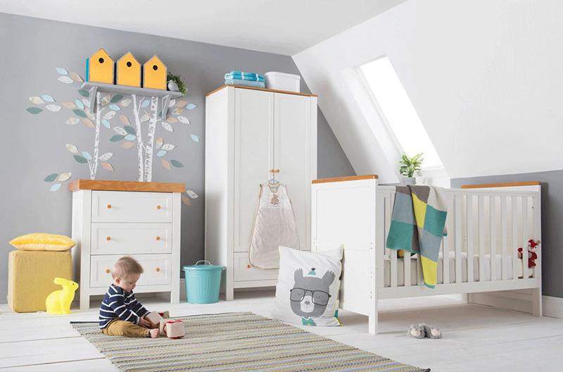 Ensemble de chambre pour lit bébé Olivia Nursery Furniture