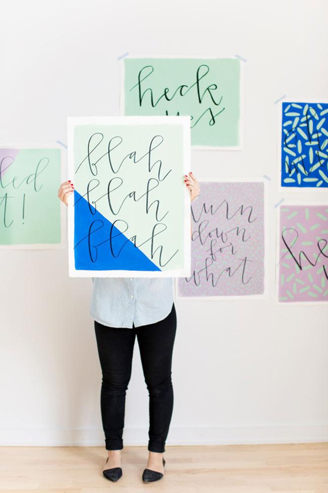 17 projets d'art mural faciles à faire soi-même qui ne vous prendront pas plus de 2 heures à réaliser