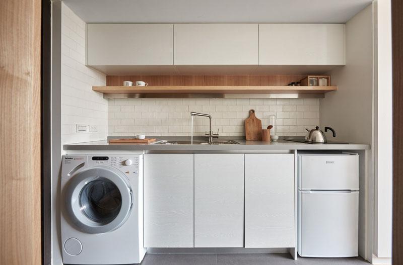 cuisinière appartement loft