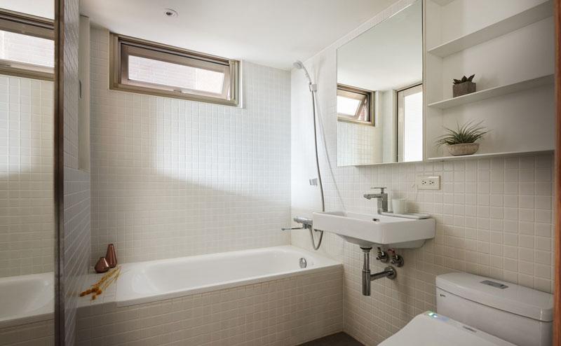 salle de bain appartement loft