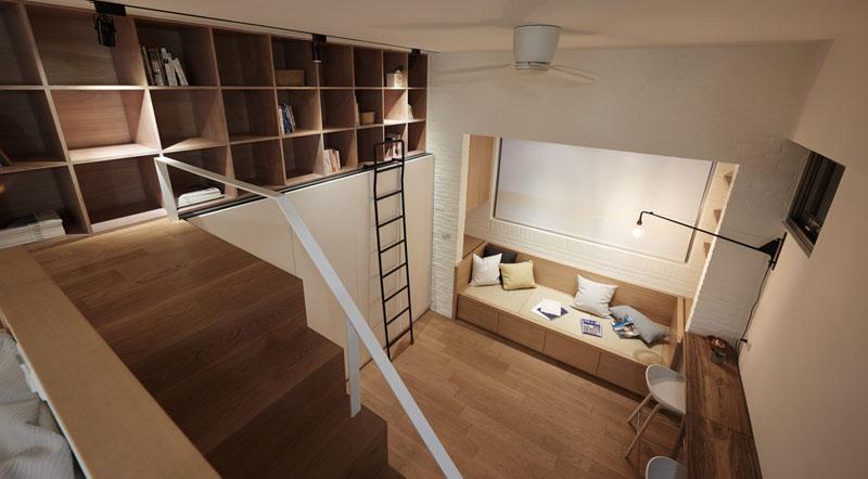 chambre appartement loft