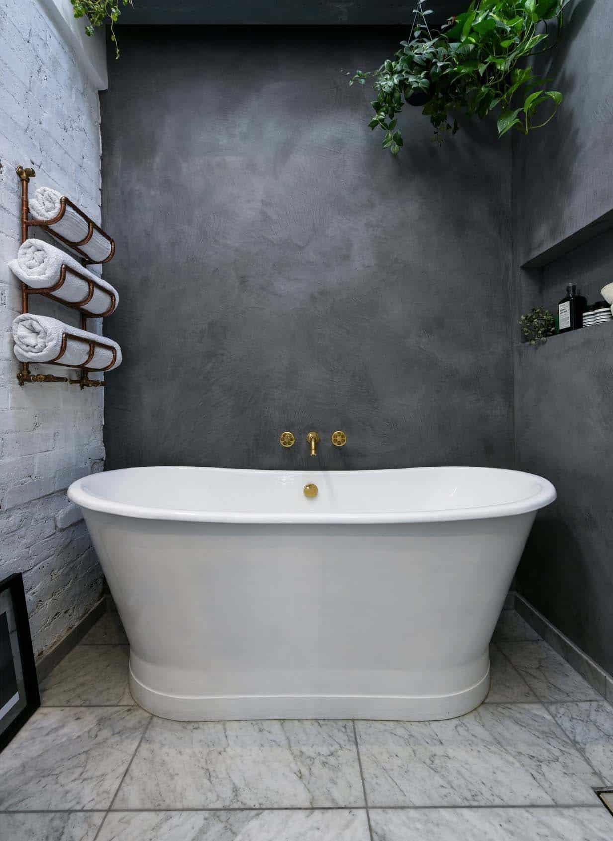 chalet-industriel-salle de bain