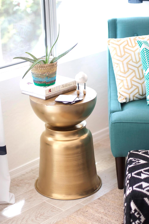 Idées de table d'appoint bricolage Golden Bowls