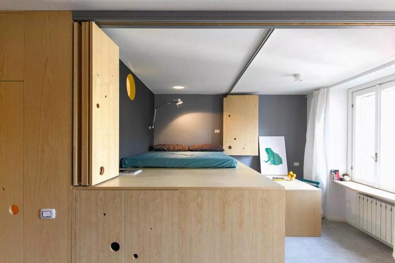 Plafond petit appartement