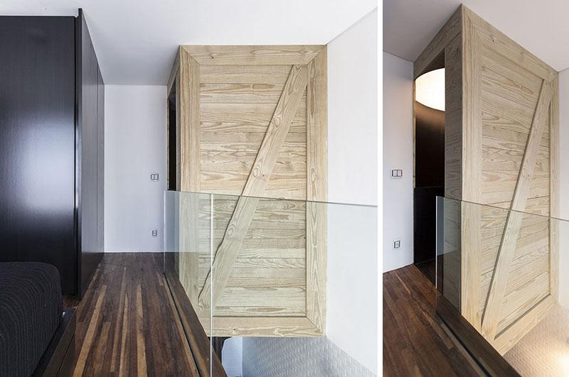 Verre d'escalier en colimaçon appartement