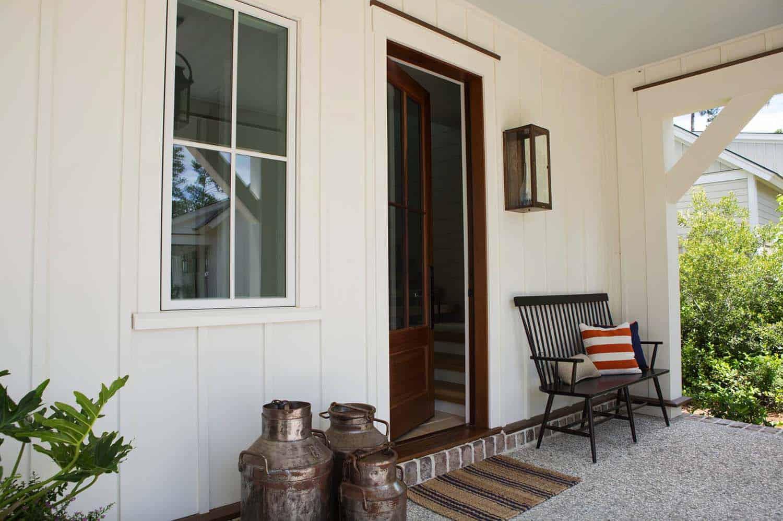 maison-de-ferme-porche-moderne